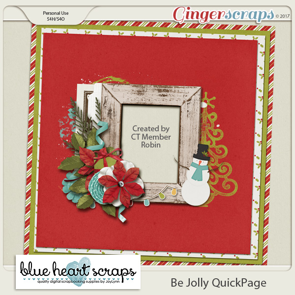 Be Jolly – December Buffet Collection & Freebie!
