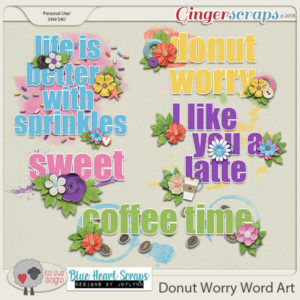 Donut Worry Collection, Bake Sale, Product Retirement Sale and Freebie!