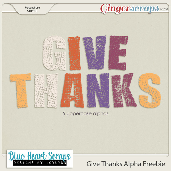 Give Thanks & Freebie!